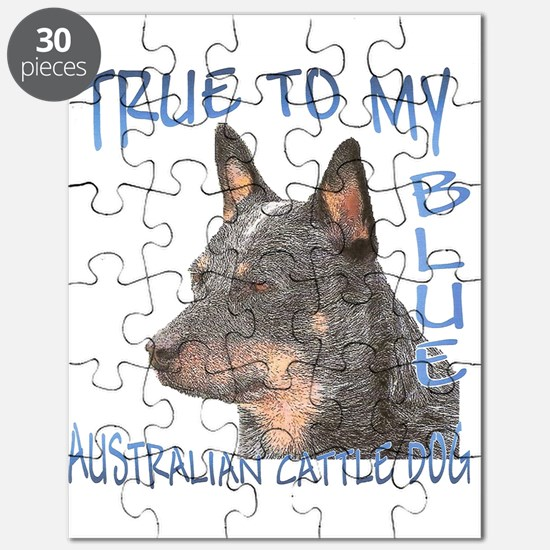 True To My Blue Puzzle