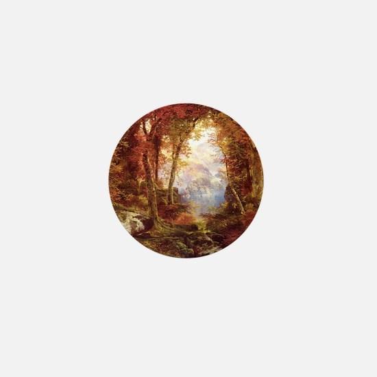 Autumn Trees Fine Art Mini Button