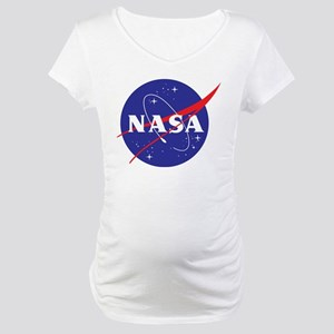 NASA Logo Maternity T-Shirt
