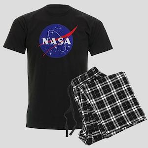 NASA Logo Men's Dark Pajamas