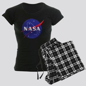NASA Logo Women's Dark Pajamas