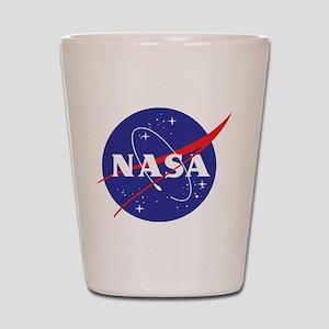 NASA Logo Shot Glass