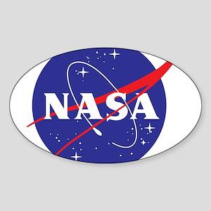NASA Logo Sticker (Oval)