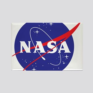 NASA Logo Rectangle Magnet