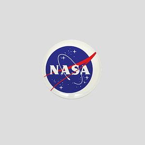 NASA Logo Mini Button