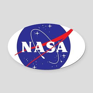 NASA Logo Oval Car Magnet