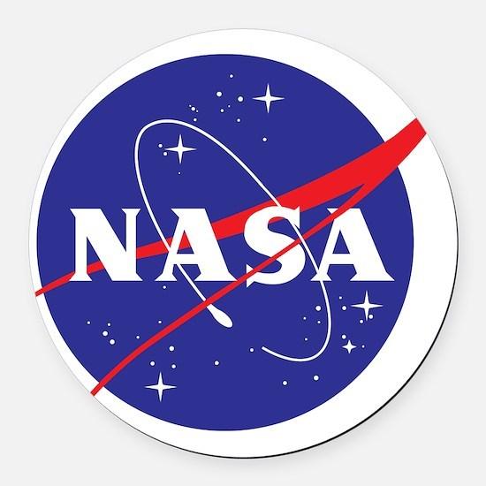 NASA Logo Round Car Magnet