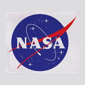 NASA Logo Throw Blanket