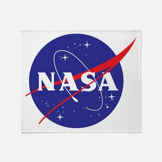 NASA Logo Throw Blanket