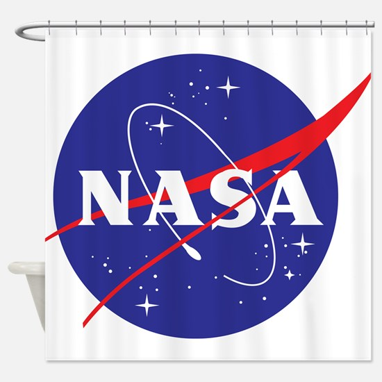 NASA Logo Shower Curtain