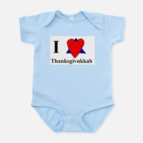 I heart Thanksgivukkah Body Suit