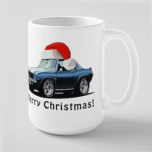 BabyAmericanMuscleCar_B01_69_Camaro_Xmas_Blue Mugs
