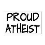 Proud Atheist (Freethinker) Rectangle Car Magnet