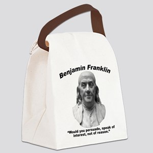 Franklin: Persuade Canvas Lunch Bag