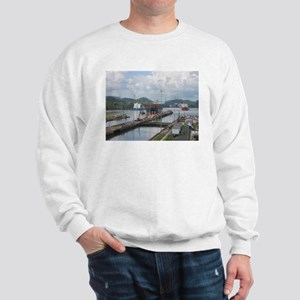 Panama: Miraflores Locks at t Sweatshirt