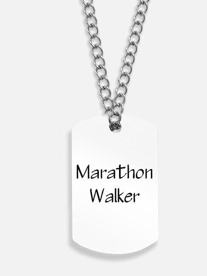 marathon walker.jpg Dog Tags