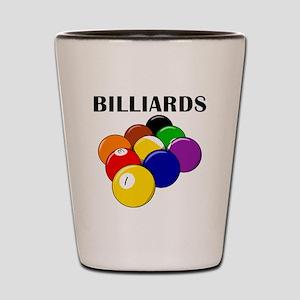 Billiards Shot Glass