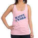 Happy at Work Racerback Tank Top