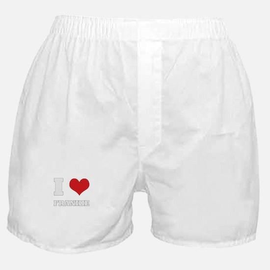 i love frankie Boxer Shorts