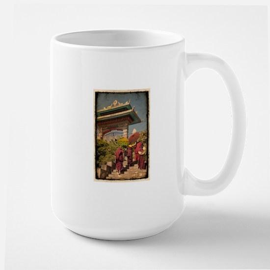 Live Gently Large Mug
