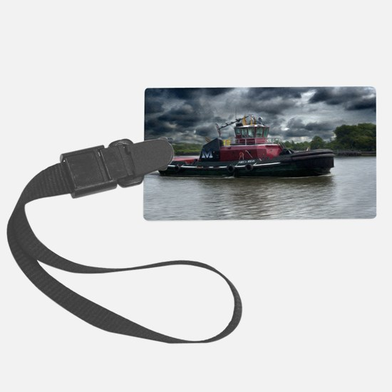 Tugboat Moran Luggage Tag