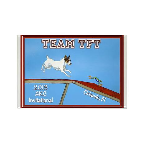 2013 Team TFT Logo Magnets