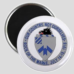 DUI - 30th Infantry Regiment, 1st Battalion Magnet