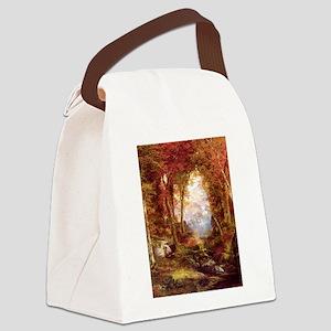 Autumn Trees Fine Art Canvas Lunch Bag