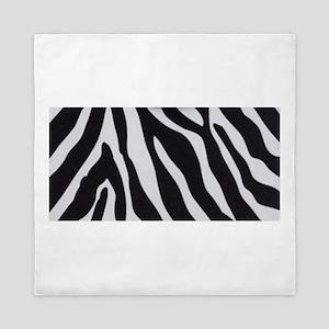 Zebra Print Queen Duvet