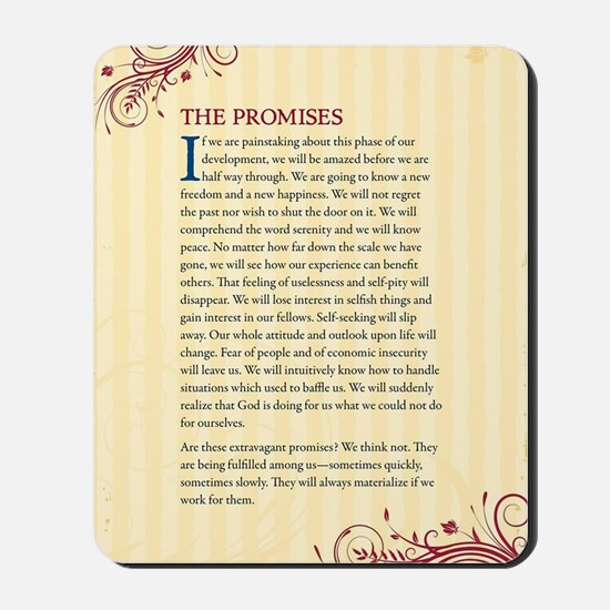 The Promises Mousepad