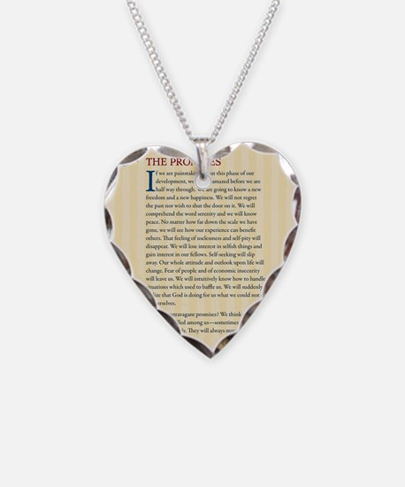 The Promises Necklace Heart Charm