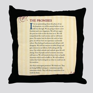 The Promises Throw Pillow