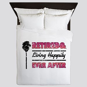Retired (Happily Ever After) Queen Duvet