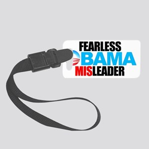 2-FEARLESS-MISLEADER-LOGO-STACKE Small Luggage Tag