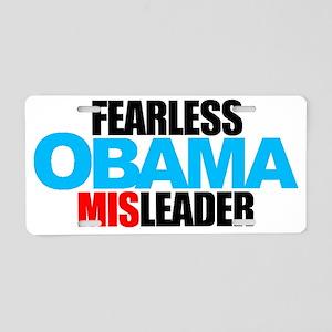 FEARLESS-MISLEADER-NO-LOGO- Aluminum License Plate