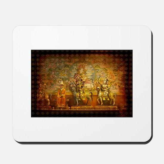 Invite Peace Mousepad