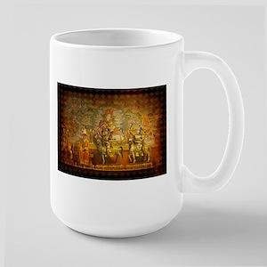 Invite Peace Large Mug