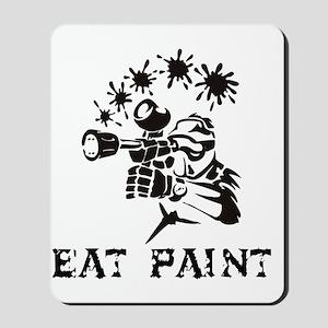 eat paint Mousepad