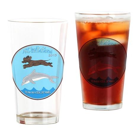 2013 Team Water Spaniel Logo Drinking Glass
