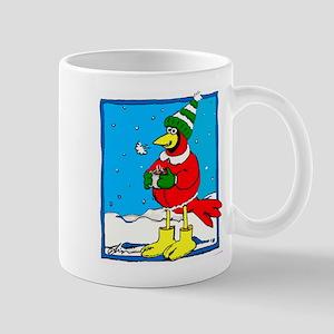 holiday redbird mug one Mugs