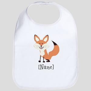 Personalized Fox Bib