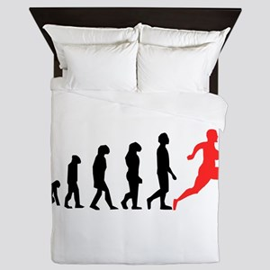 Running Evolution Queen Duvet