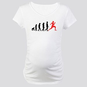 Running Evolution Maternity T-Shirt