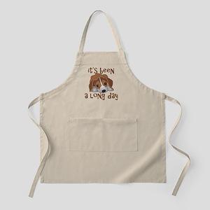 Long Day Beagle Puppy Apron