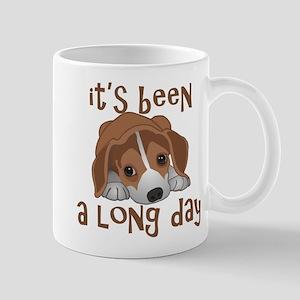 Long Day Beagle Puppy Mugs