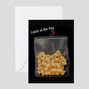 Catch of the Day Greeting Cards