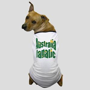 Australia fanatic Dog T-Shirt