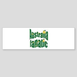 Australia fanatic Bumper Sticker