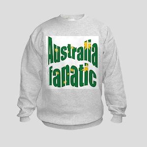 Australia fanatic Kids Sweatshirt
