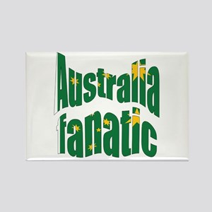Australia fanatic Rectangle Magnet